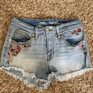 Mossimo Denim High Rise Shorts